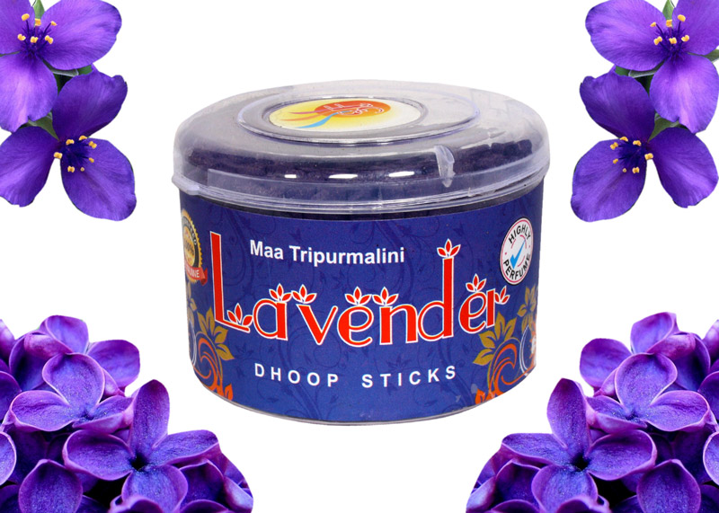 Lavendar Dhoop Sticks (Pack of 4)
